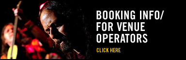 Booking Info / Venue Operators