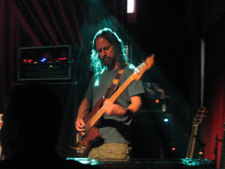 Barry on bass in Tucson