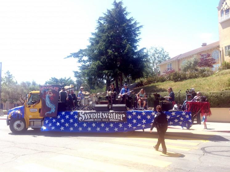 Memorial Day Parade float