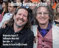 Roger McNamee Announces Duo With Jason Crosby - Doobie Decibel System!!!