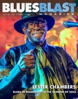 Blues Blast Magazine features Lester Chambers in cover story
