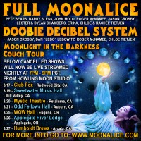 Tour dates cancelled; Announcement of Moonlight in Darkness livestream tour