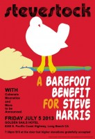 Benefit for Steve Harris of Cubensis