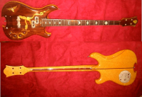 "Tom Lieber, luthier who fashioned Pete Sears ""Dragon"" bass, describes how Grateful Dead forum RUKIND.com was instrumental in its recovery!!!"
