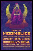 The Art of Moonalice Show at Brooklyn Bowl, New York April 8th!