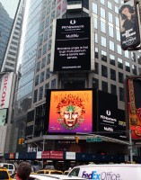 Moonalice in Times Square! In Lights!