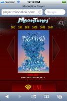 MoonTunes® player for iPhone/iPad now available!!!!