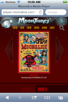 MoonTunes® player - Better than ever!!!