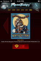 Moonalice donates their MoonTunes® streaming solution for live streaming of Hardly Strictly Bluegrass Festival