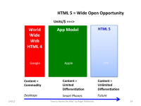 HTML 5: The Next Big Thing for Content by Roger McNamee