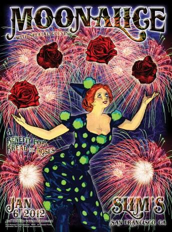 """2012-01-06 @ Bread & Roses """"Fun"""" Raiser @ Slim's!"""