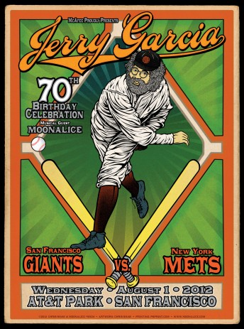 2012-08-01 @ AT&T Park - Jerry Garcia's 70th Birthday Celebration at SF Giants