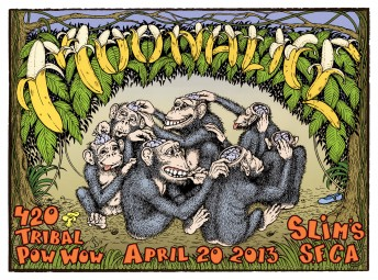 2013-04-20 @ Slim's - 420 Show!