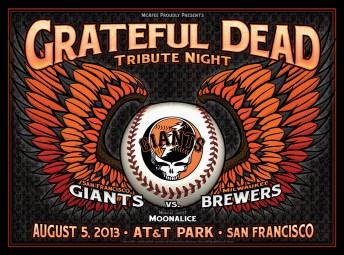 2013-08-05 @ Grateful Dead Night @ AT&T Park - Dugout Set
