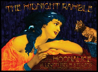 2013-09-28 @ Midnight Ramble @ Levon Helm's Studio