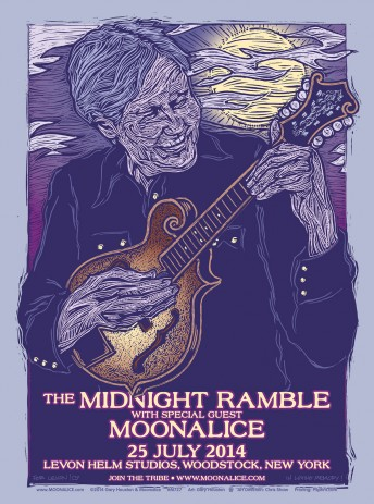 2014-07-25 @ Midnight Ramble at the Barn / Levon Helm Studios