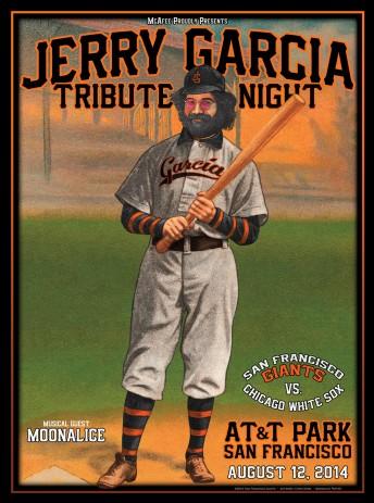 2014-08-12 @ Jerry Garcia Tribute Night @ SF Giants