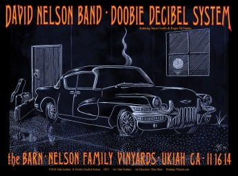 2014-11-16 @ Doobie Decibel System @ The Barn (Nelson Family Vineyards)