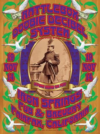 2014-11-19 @ Doobie Decibel System @ Iron Springs Pub & Brewery
