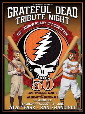 2015-08-13 @ Grateful Dead Tribute Night @ SF Giants