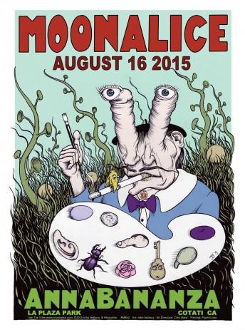 2015-08-16 @ AnnaBananza @ La Plaza Park