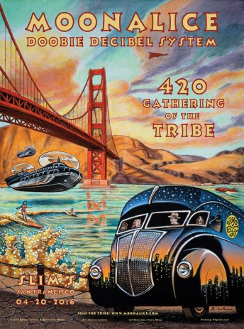 2016-04-20 @ Slim's - Annual 420 Gathering of the Tribe!