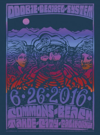 2016-06-26 @ Doobie Decibel System Band @ Commons Beach