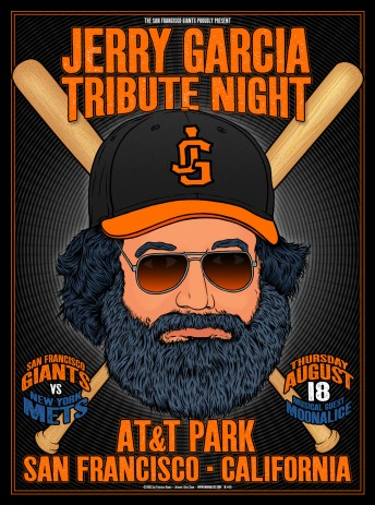 2016-08-18 @ Jerry Garcia Tribute Night @ SF Giants