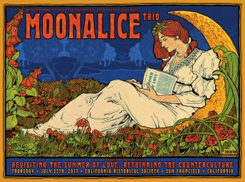 "2017-07-27 @ California Historical Society ""Summer of Love"" Anniversary - Moonalice Trio"