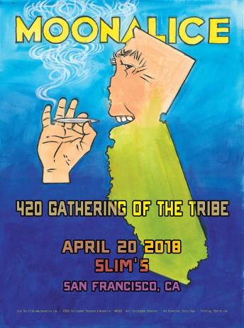 2018-04-20 @ Slim's - 420 SHOW!!