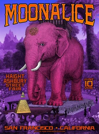 2018-06-10 @ Haight Street Fair - Masonic Stage