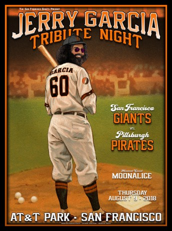 2018-08-09 @ Jerry Garcia Tribute Night @ SF Giants