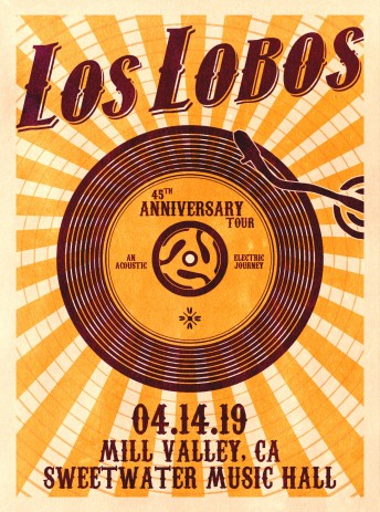 2019-04-14 @ Special Los Lobos Stream from Sweetwater!