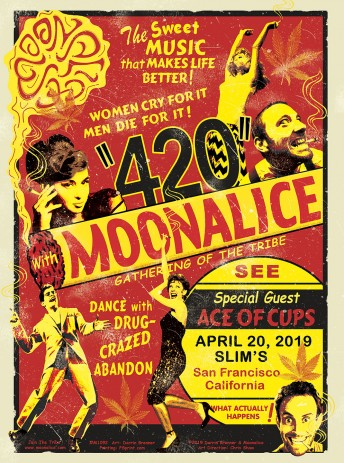 2019-04-20 @ Slim's 420 Gathering of the Tribe!