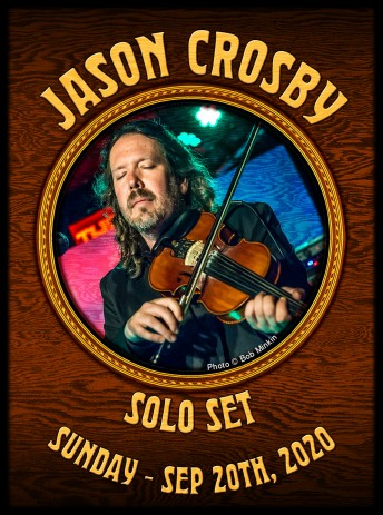 2020-09-20 @ Jason Crosby Shelter-In-Place Session #187 at Howling Moon Studios