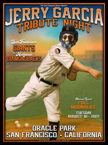 2021-08-10 @ Jerry Garcia Tribute Night @ SF Giants