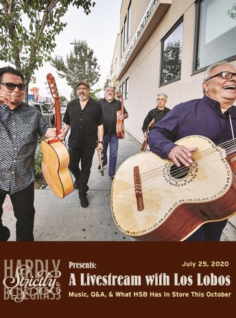 2020-07-25 @ Hardly Strictly Bluegrass Presents a Livestream with Los Lobos