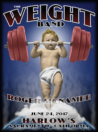2017-06-24 @ Roger McNamee solo w/ The Weight Band