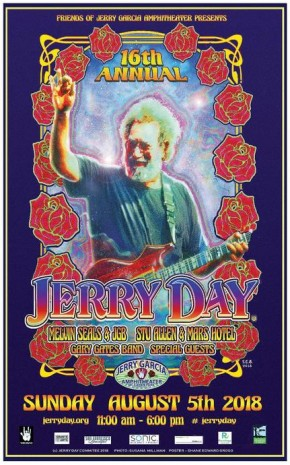 2018-08-05 @ 16th Annual Jerry Day @ Jerry Garcia Amphitheater