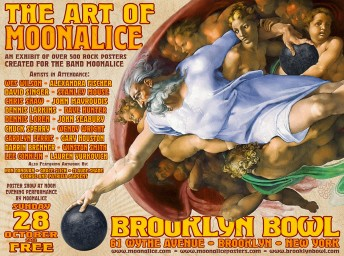 2012-10-28 @ The Art of Moonalice Poster Show - FREE!