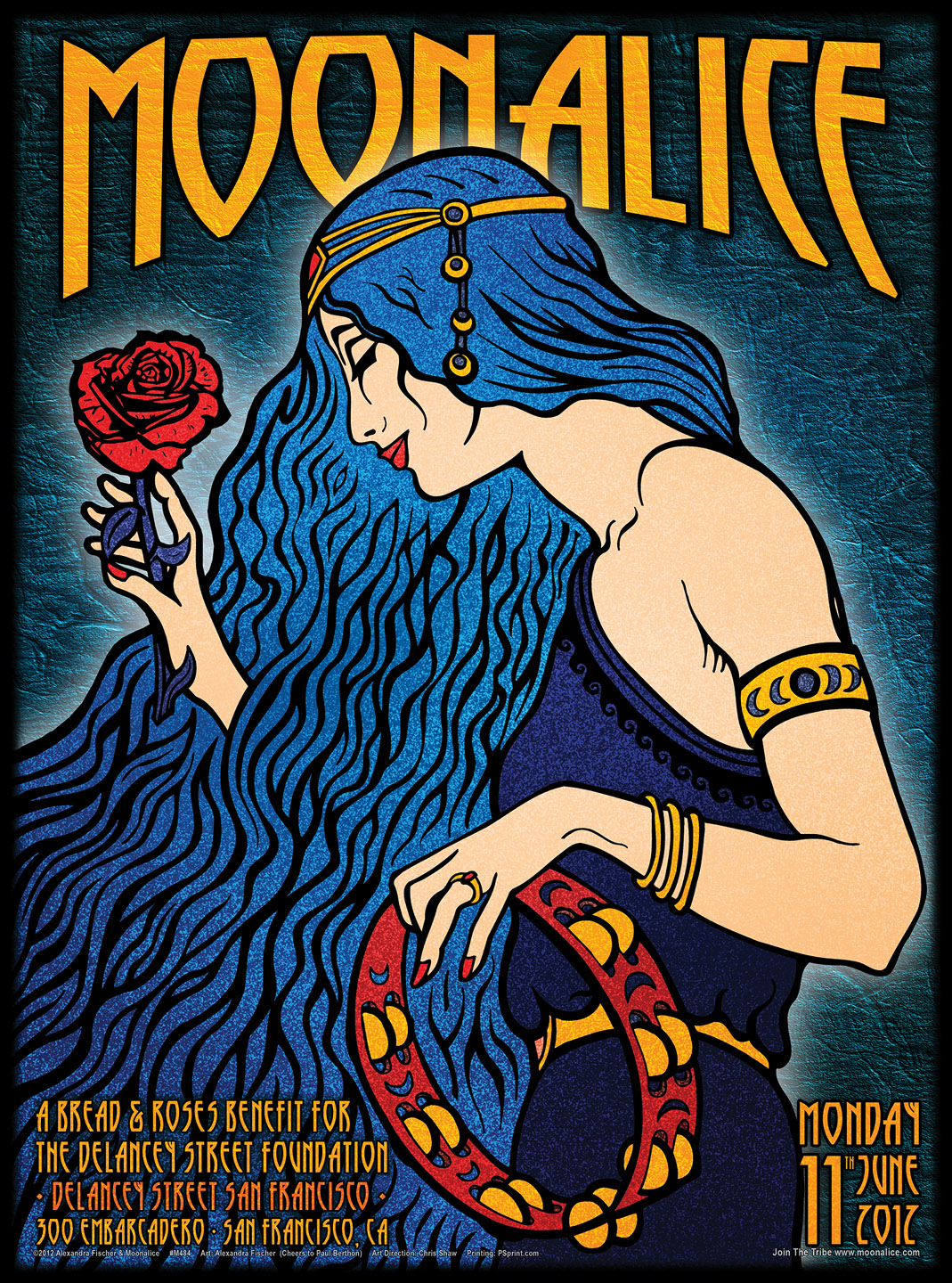 MOONALICE BAND POSTERS